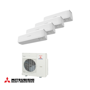 Multi-, tripple en quatro split airconditioners